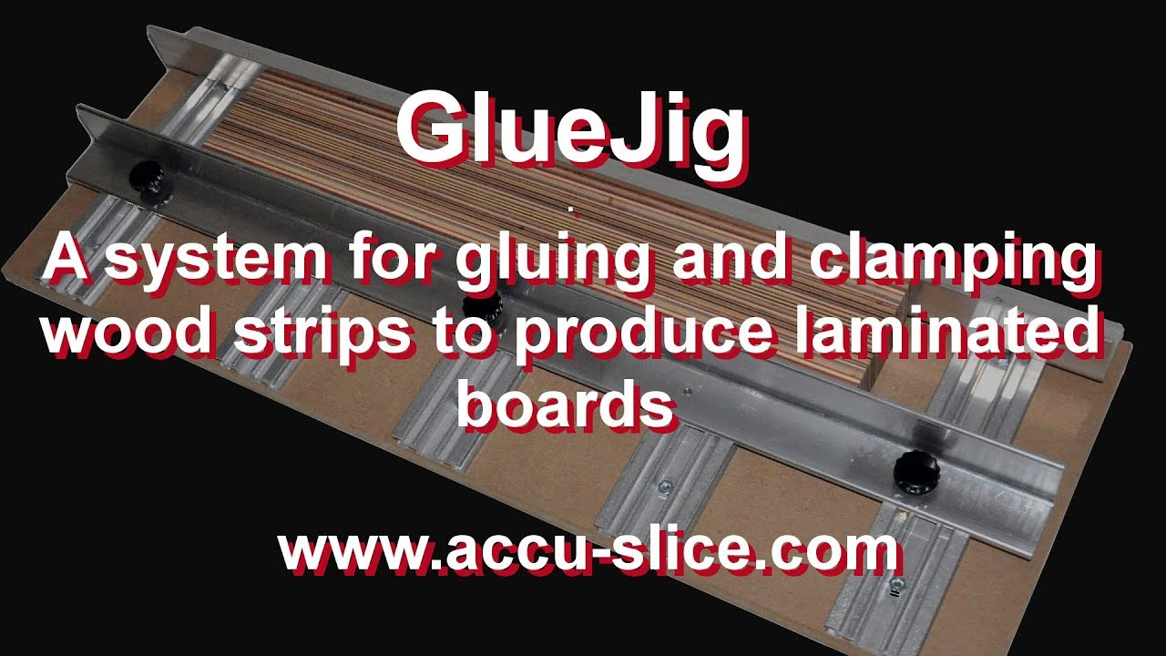 Gluejig A System For Gluing And Clamping Veneers And Thin Wood Strips To Produce Laminated Boards