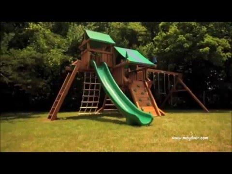 Деревянные детские площадки «Мой Двор»