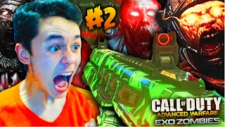 "Advanced Warfare ""EXO ZOMBIES"" Gameplay #2! Call Of Duty: Advanced Warfare DLC HAVOC ""Outbreak"""
