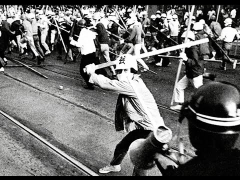 60's Japanese Protest Footage From Kouji Wakamatsu's United Red Army.