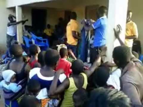 Dcwo Charity Video At Choch In The Central Region Of Ghana