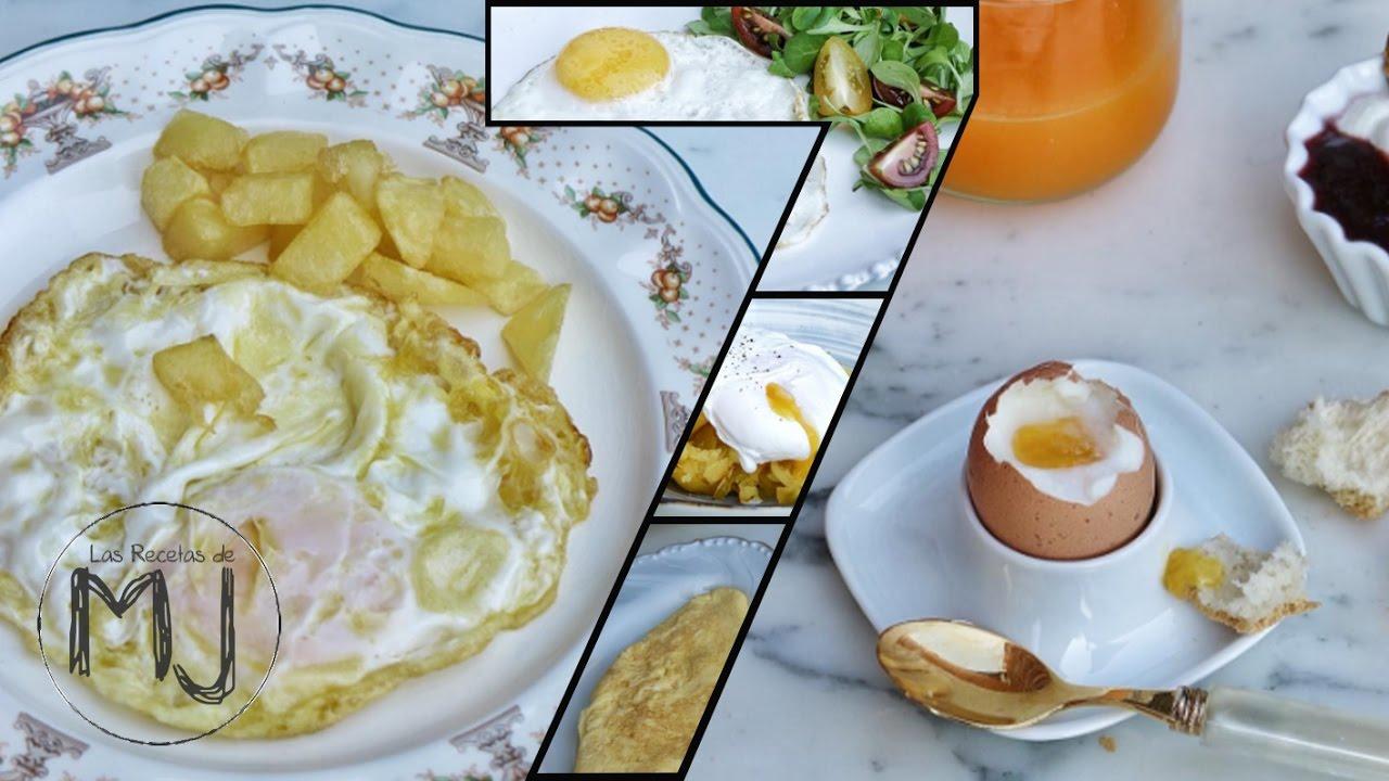 7 maneras de cocinar un huevo youtube for Cocinar con 5 ingredientes