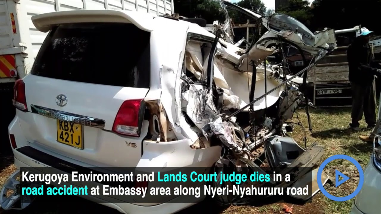 Maraga Mourns As Judge Samuel Mukunyas In Road Accident