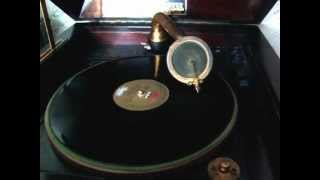 Pathe Demonstration Record 1914 played on a Pathe Solophone Phonograph