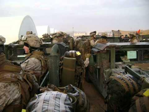 Mike Jones' Marine Corps Deployment Video