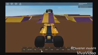 Roblox Monster Jam Commentary #204 (MonsterMode 14)