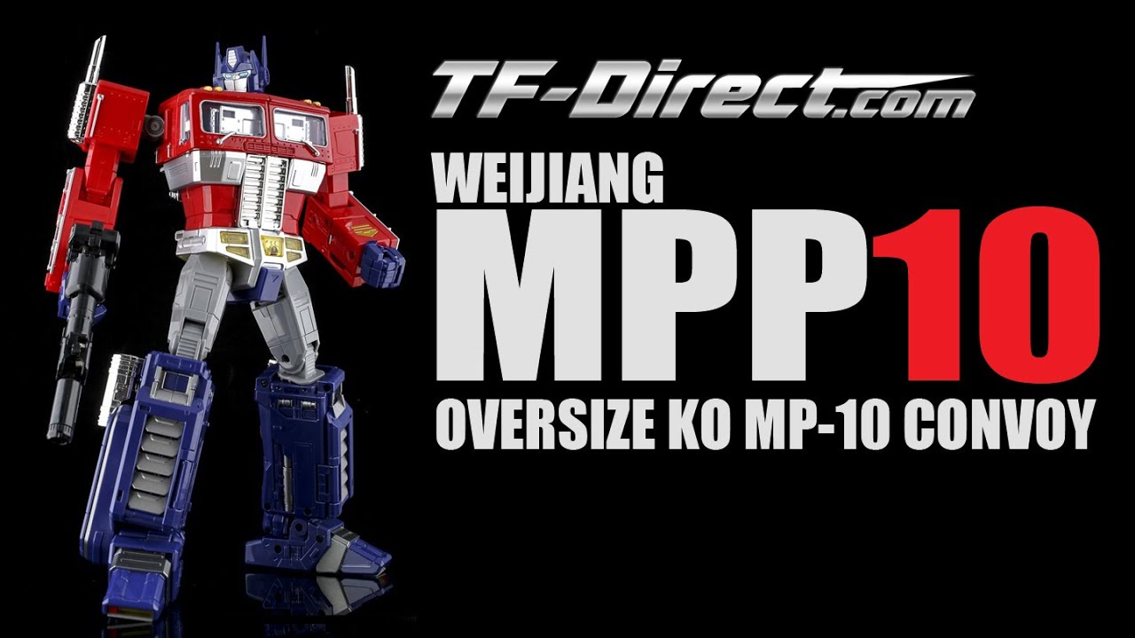 NEW WEIJIANG Deformation Era Commander Masterpiece MPP10 Oversized G1 Figure