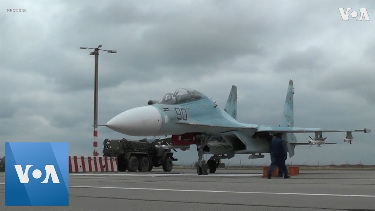 Russian Fighter Jets Land in Crimea Amid Ukraine Tensions ...