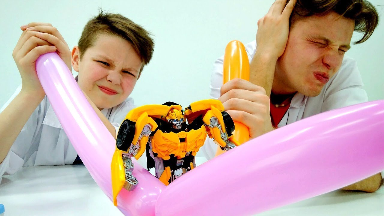 Игры с Трансформерами - Новый Энергон для Автоботов! - Видео для детей.