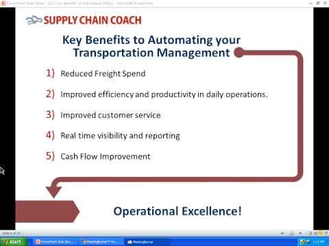 Key Benefits of Automating Your Transportation Management