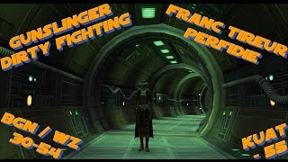 Franc-tireur Perfidie BGN & KUAT / Gunslinger Dirty Fighting WZ & KUAT - SWTOR FR