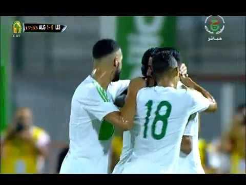 INCREÍBLE GOL DE Riyad Mahrez CON LA SELECCION DE ARGELIA