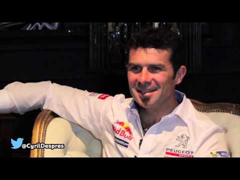 #PeugeotVuelveAlDakar - Cyril Despres en Peugeot Lounge.