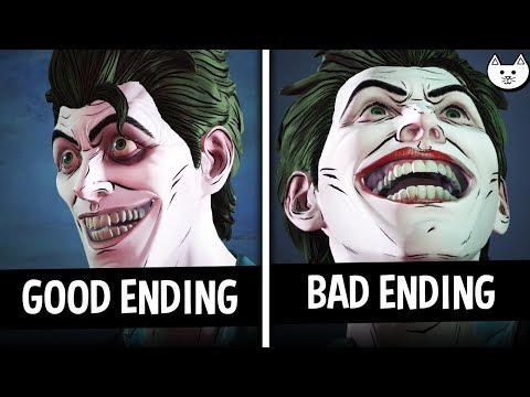 Episode 4 ENDINGS - GOOD Ending VS BAD Ending - Batman The Enemy Within Episode 4 Choices