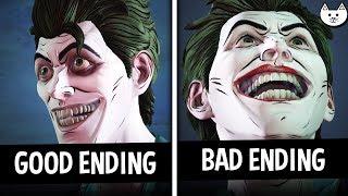 Episode 4 ENDINGS - GOOD Ending VS BAD Ending - Batman The Enemy Within Episode 4 Choices