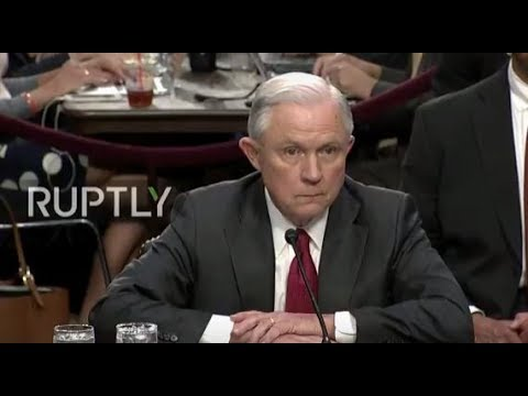 LIVE: Sessions testifies before US Senate Intelligence Committee