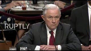 LIVE  Sessions testifies before US Senate Intelligence Committee