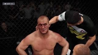 EA Sports UFC 2 Ranked - Junior Dos Santos vs Cain Velasquez (GP197)