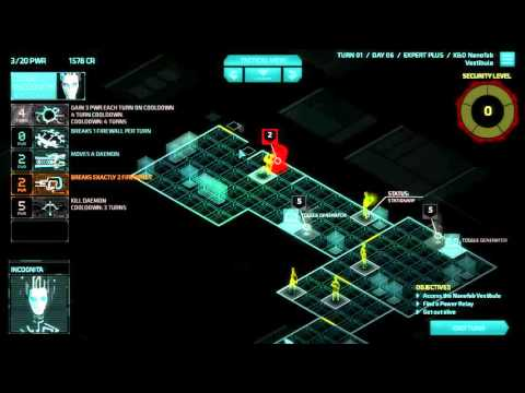 Invisible Inc Campaign 3-17 Contingency Plan