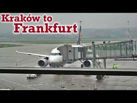 Full Flight: Lufthansa A319 Kraków to Frankfurt (KRK-FRA)
