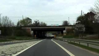 Przejazd przez Kędzierzyn-Koźle (DK40)