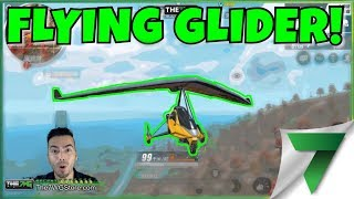 FLYING THE GLIDER EXCLUSIVE GAMEPLAY! NEW MAP BETA UPDATE! | Rules Of Survival