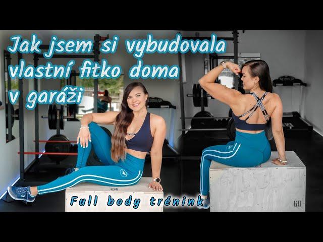 PROHLÍDKA MÉHO OSOBNÍHO FITKA | FULL BODY TRÉNINK | DO FORMY IV.