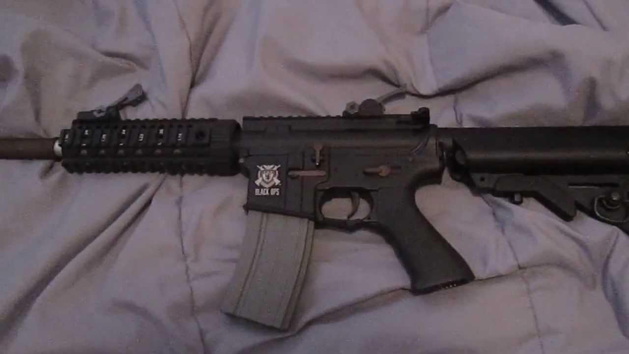 m4 diamond back assault rifle airsoft gun
