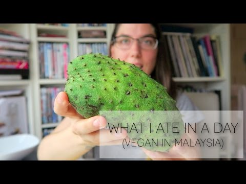 WHAT I ATE IN A DAY (VEGAN) IN MALAYSIA Ep 1
