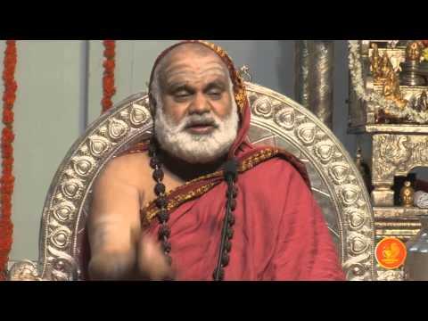 Anugraha Bhashanam At Moti Nagar By The Jagadguru Shankaracharya Of