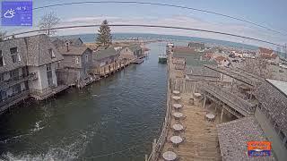 Preview of stream The Cove Live Stream - Fishtown - Leland, Michigan