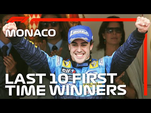 The Last 10 First-Time Winners Of The Monaco Grand Prix