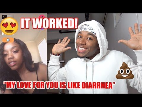 Using Corny Pick Up Lines To Get Girls | Monkey App *FUNNY*