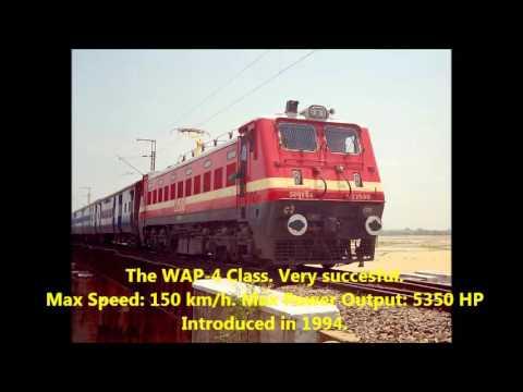 6. Indian Electric Locomotive WAP Series