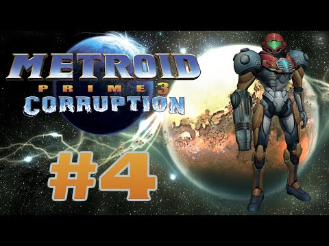 Let's Play Metroid Prime 3: Corruption - #4 | A New Dead Society
