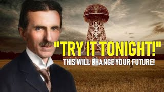 Nikola Tesla Was Doing This Everyday! | TRY IT TONIGHT!
