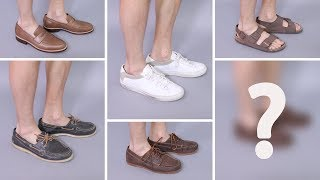 7 Types of Shoes to Wear With Shorts | Best Summer Shoes for Men