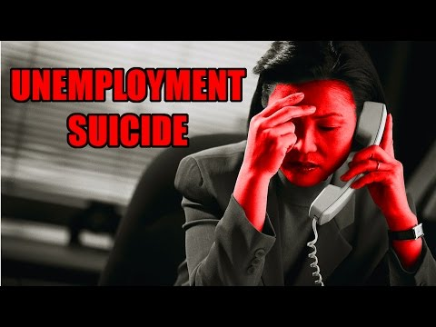 Unemployment Causes 45,000 Suicides a Year