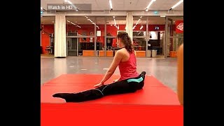 Contortion/splits training