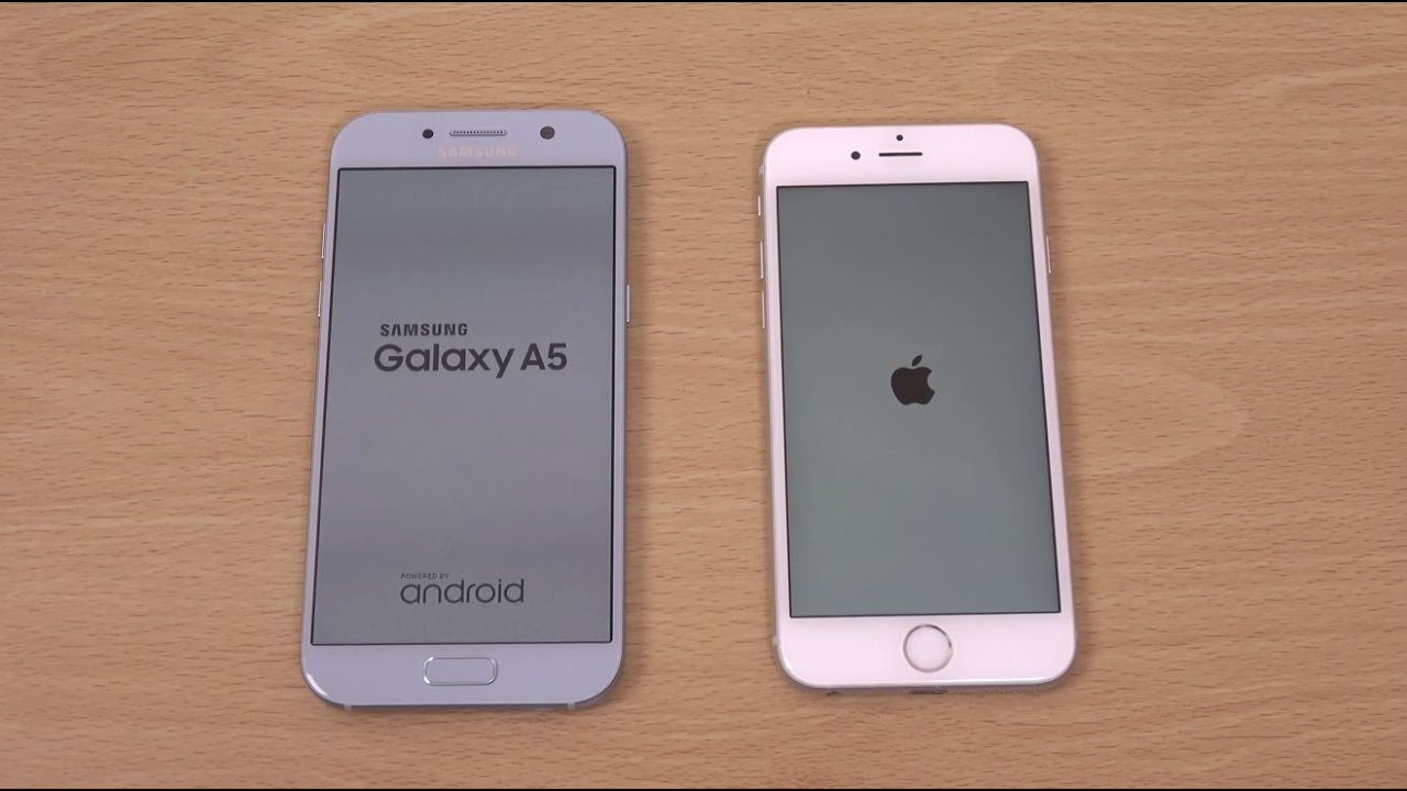 samsung galaxy a5 2019 vs iphone 6s