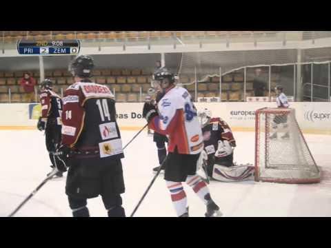 HS Rīga/Prizma pret HK Zemgale LLU (pilna spēle)