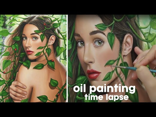 Oil Painting  Time Lapse  - Purity | Ilana K. Artist