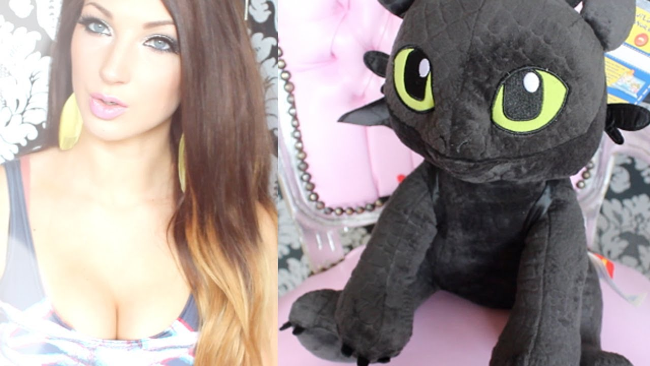Build A Bear Toothless How To Train Your Dragon Plush Jemma