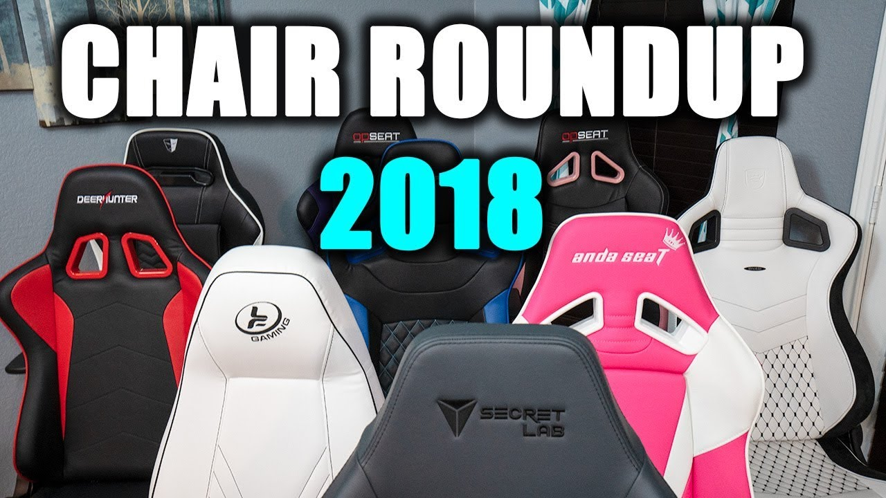 Buy the Best Gaming Chair! | Gaming Chair Roundup 2018