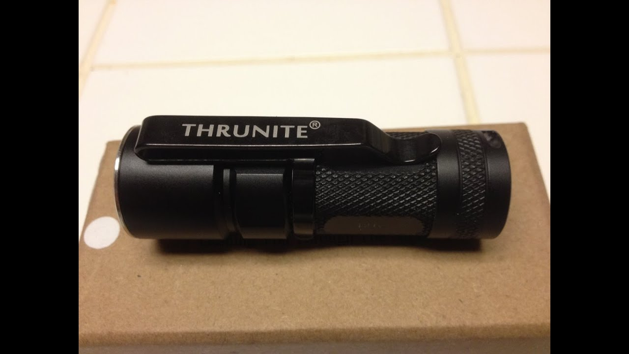 ThruNite T21 V2 Flash Light  Review