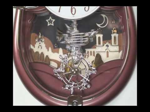 Concerto Entertainer Musical Clock by Rhythm Clocks