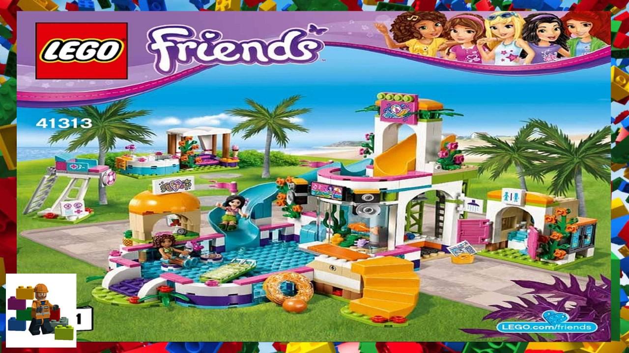 Lego Instructions Friends 41313 Heartlake Summer Pool Book 1