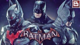 Batman: Arkham Knight - Обзор ТОПОВЫХ DLC - КОСТЮМЫ БЭТМЕНА ИЗ ФИЛЬМОВ И БЭТМОБИЛИ (Full HD) #1