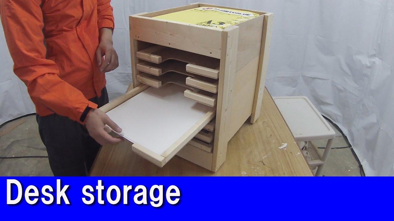 Diy Desk Storage Letter Tray
