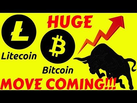 LITECOIN and BITCOIN HUGE MOVE COMING!! ltc btc price prediction, ltc btc news